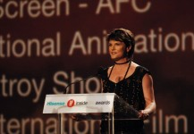 Presenting at the IF Awards